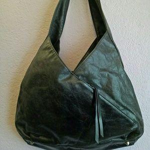 Hobo international black satchel handbag